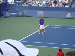 Rafael Nadal Playing His Match!!!