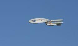 My Enterprise in flight