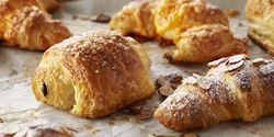 Chocolate, Almond and Cheese Croissants