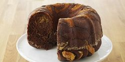 Chocolate Hazelnut Brioche Cake