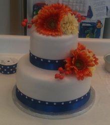 Gisele & Seth's Wedding Cake September 21, 2013