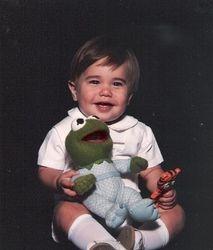 Kermit & Baby Taylor