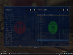 My score on a empty server..