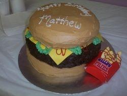 3D Cheeseburger