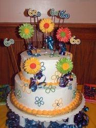 Surprise 60th cake