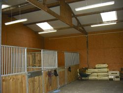 weatherproof lights for stables