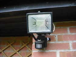 PIR Security sensor light