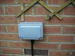 weatherproof outdoor socket