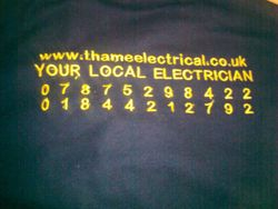 Thame Electrical, Your Local Electrician.