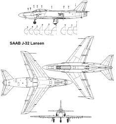 Saab J-32 Lansen