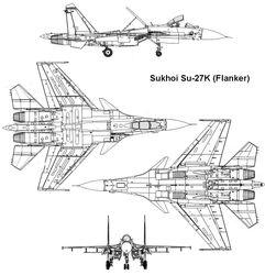 SU-27K Aggressor