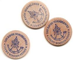 Hornblower Lucky Wooden Penny