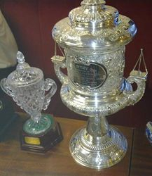 the famous Tetley Cup