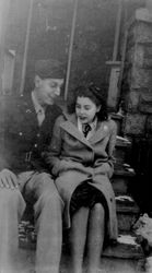 Andy in NYC Before Shipping out 1943