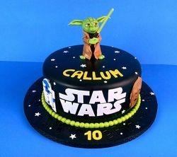 Callum's Yoda Cake