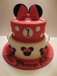 Addie's Minnie Mouse 1st Birthday