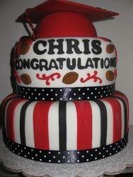 Chris's Graduation Cake