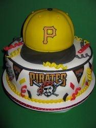 Pittsburgh Pirates Grooms Cake