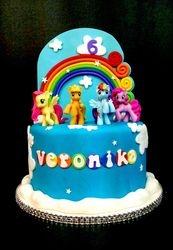 Veronika's My Little Pony Cake