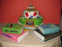 Pat's Retirement Celebration Cakes