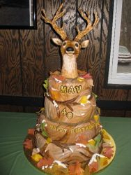 Hunting Themed Cake