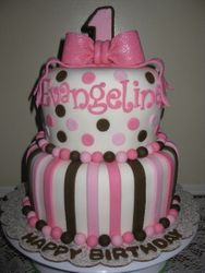 Evangelina's First Birthday Cake