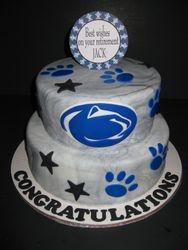 Penn State Retirement Cake
