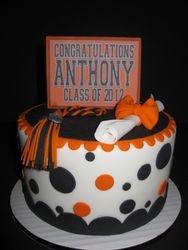 Anthony (Skin's) Grad Cake