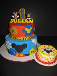 Julian's Mickey Mouse Club 1st Birthday