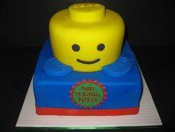 Patrick's Lego Birthday Cake