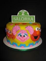 Salorra's 2nd Sesame Street Birthday