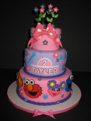Tayler's Girly Sesame Street Birthday