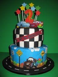 Trey's Car's Birthday Cake