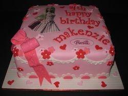 Makenzie's Barbie Birthday