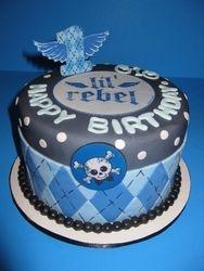 Gio's Lil' Rebel Birthday Cake