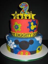 Eli's Mickey Mouse Club House Birthday