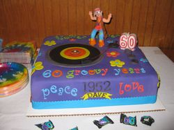 My Brother-in-law Dave's 60th Birthday Cake