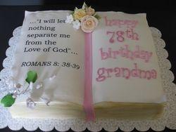 Grandma's Bible Cake