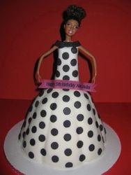 Aira Joulai's Barbie Cake