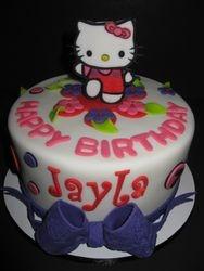 Jayla's Hello Kitty Birthday Cake
