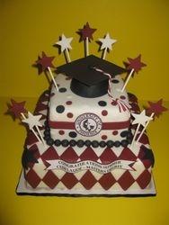 Summer's College Graduation Cake