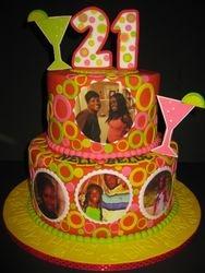 Nelle Bell's 21st Birthday Cake