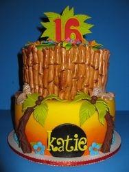 Katie's Tropical Birthday Cake