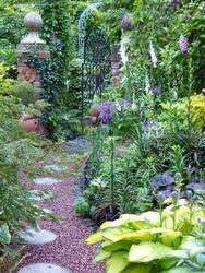Terra-cotta garden