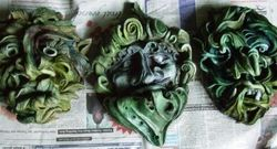 Masks just painted