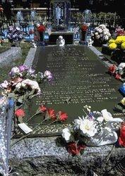 Elvis' Grave at Graceland