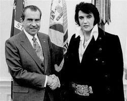 Elvis and President Nixon