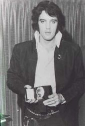 Elvis' Badge from Nixon