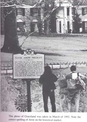 Marker In Front Of Graceland
