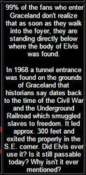 Tunnels Beneath Graceland